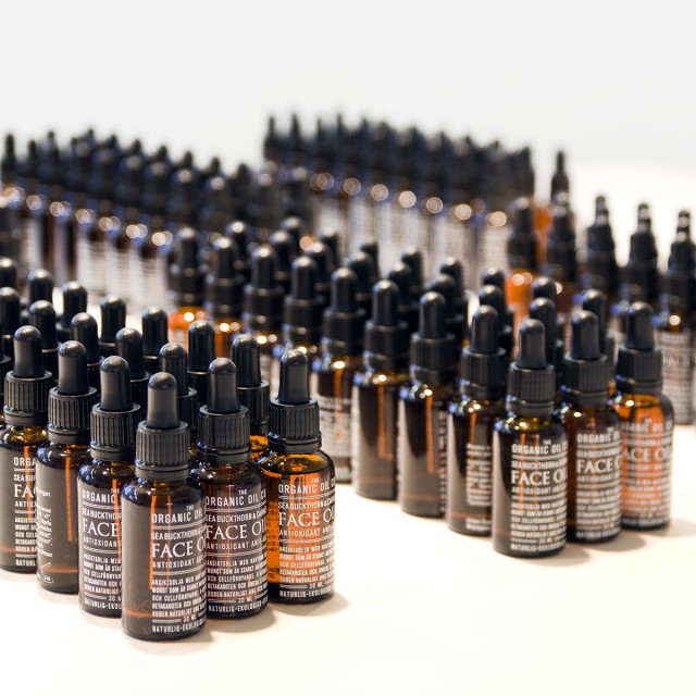Produktion Face Oil - The Organic Oil Co.
